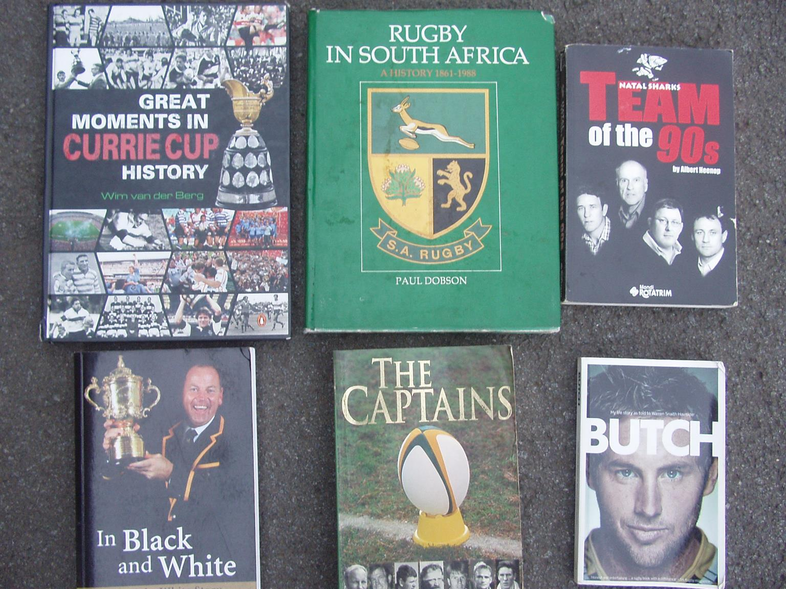 Rugby Books - 8 books on Rugby in excellent condition