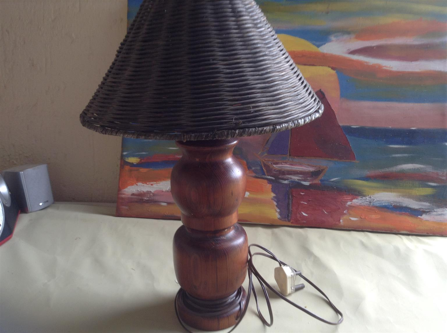 Large desk or table lamp