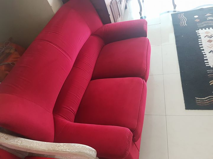 Drylon wing back lounge set