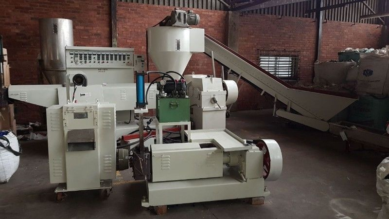 Recycling palletizing plant for sale - second hand