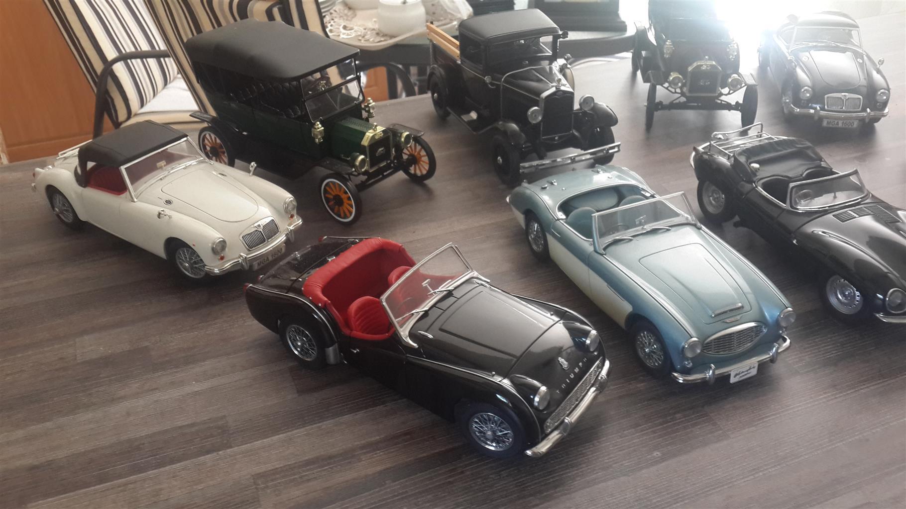 1/18th model cars