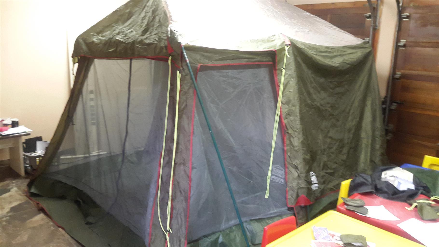 5 sleeper camp master tent