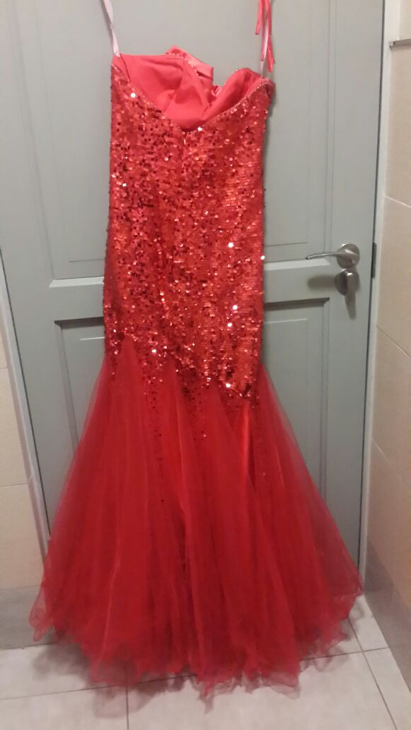 Stunning Red Evening/Matric Farewell Dress for R3500.00