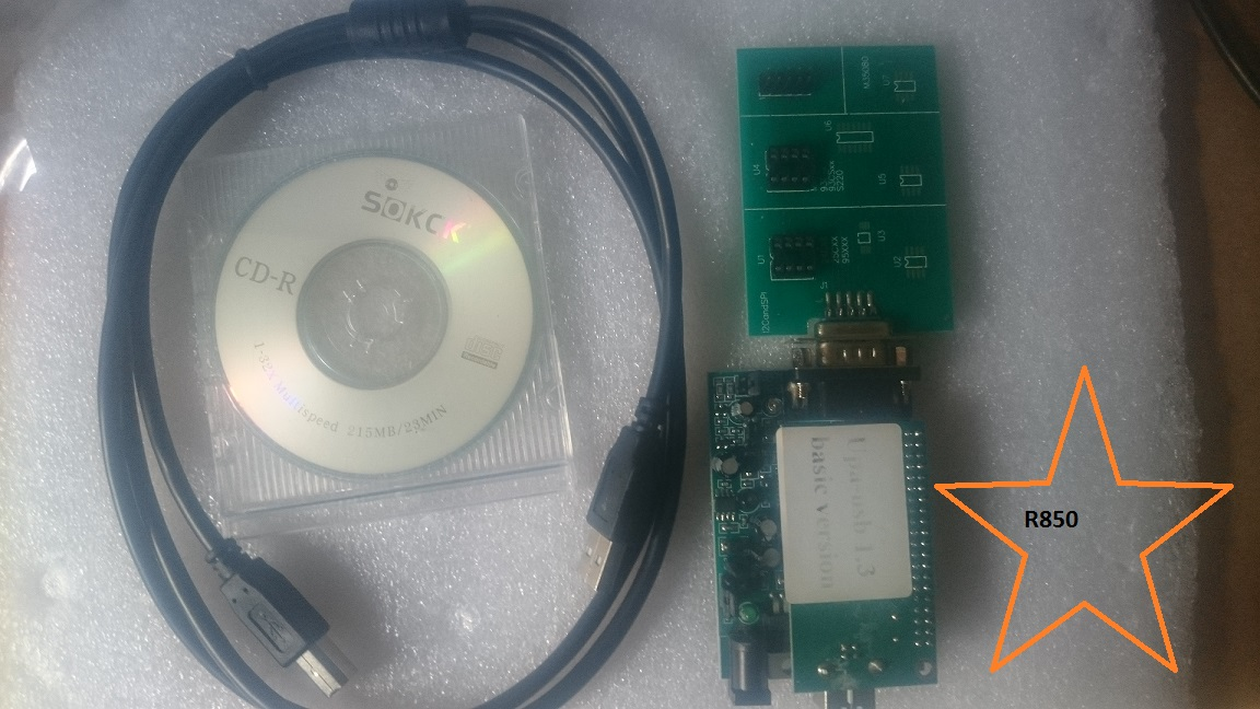 UPA1.3 UPA-USB Device Programmer without Adaptors