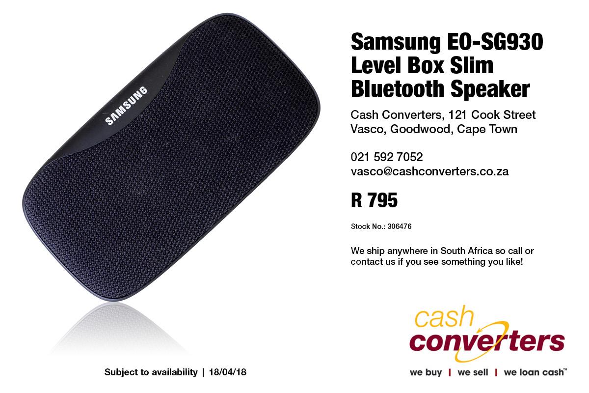 Samsung Eo Sg930 Level Box Slim Bluetooth Speaker Junk Mail