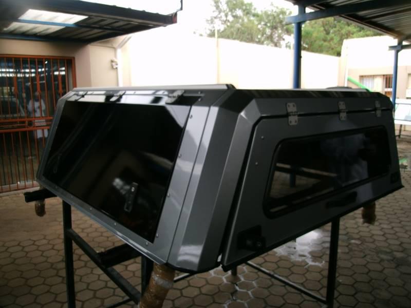 silver aluminium rsi canopy toyota hilux 2018 double cab