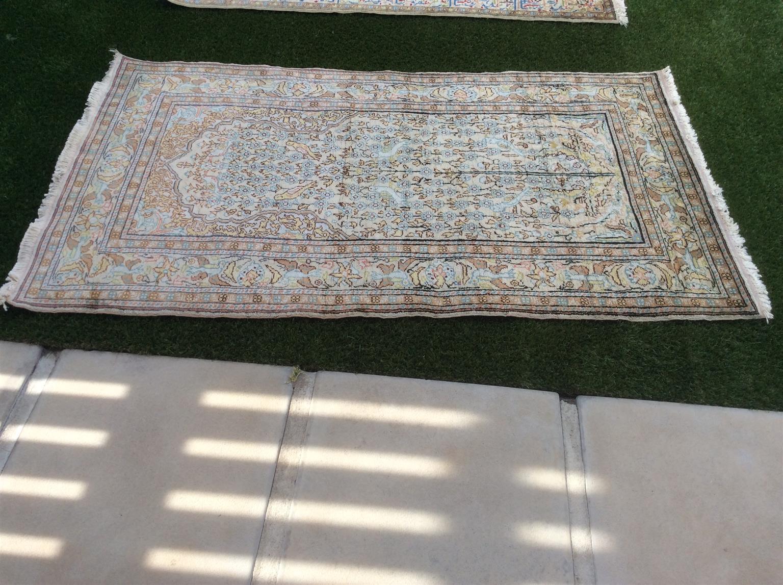 Oriental rug - size 153cms X 85cms