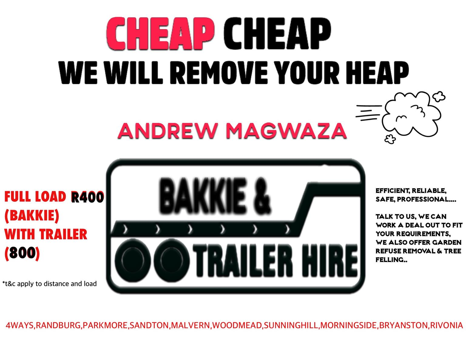 Cheap Cheap we will remove your heap