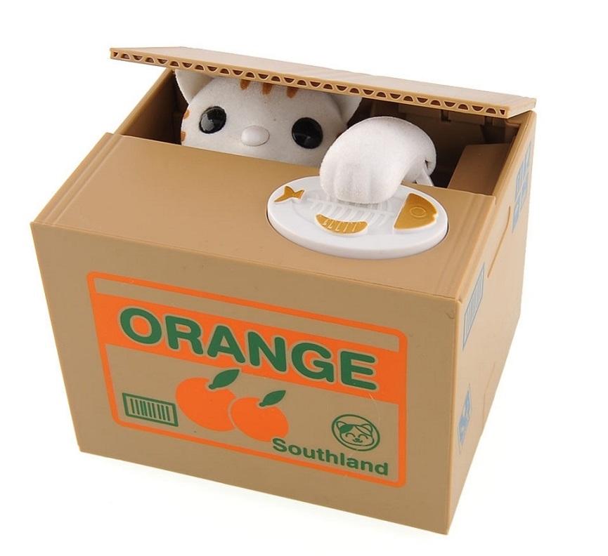 New Mischief Saving Box - Cat