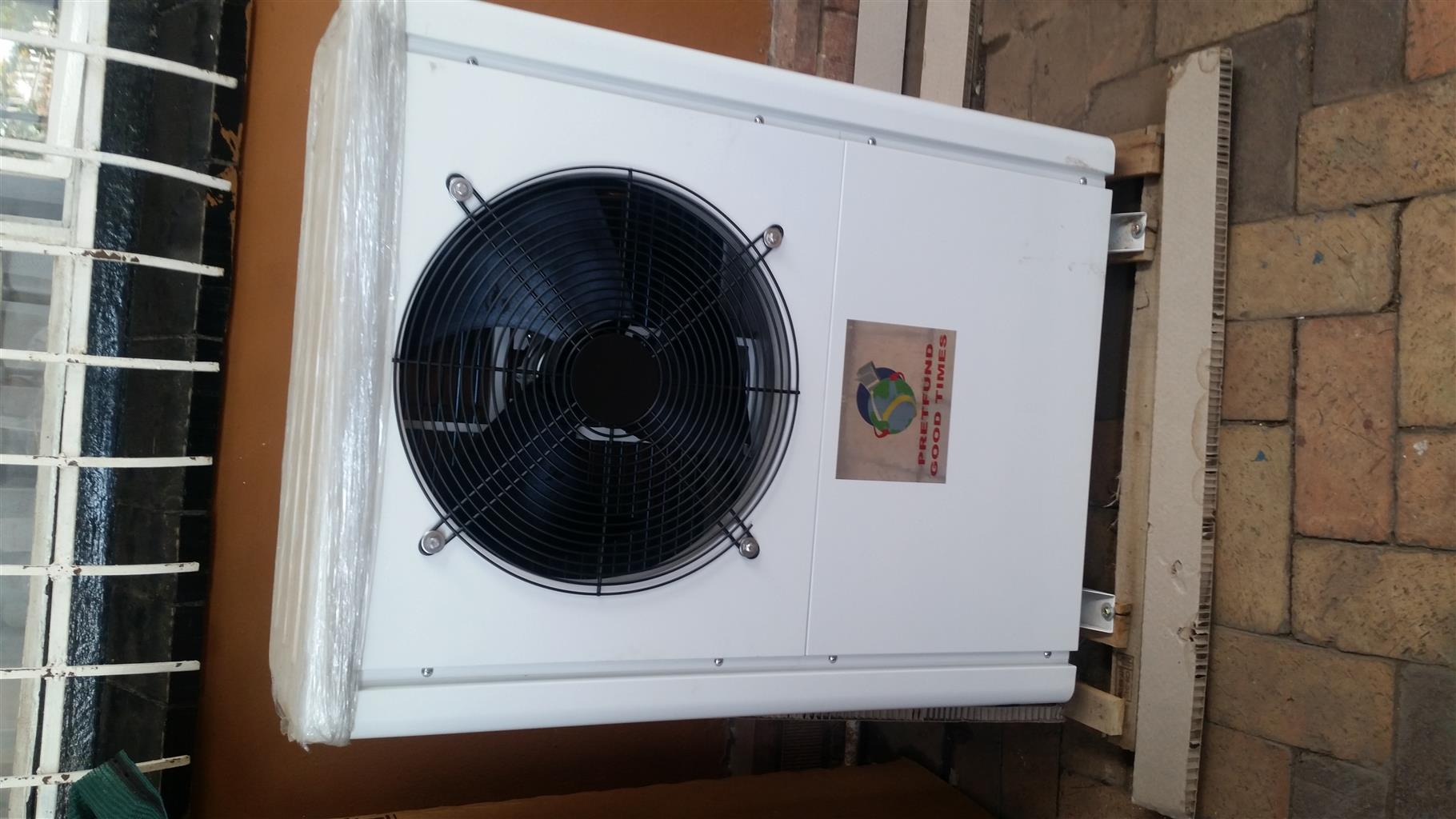 Air to hot water heat pumps