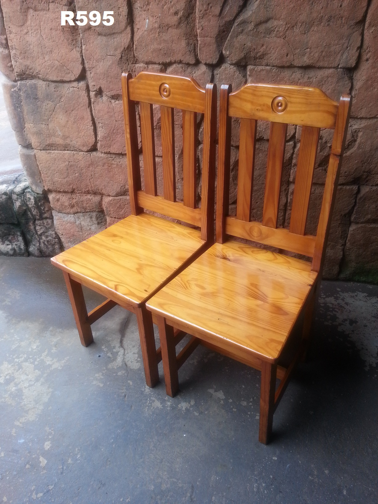2 Pine Chairs & 2 Pine Chairs | Junk Mail