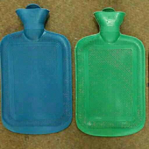 Winter rubberush water bottle