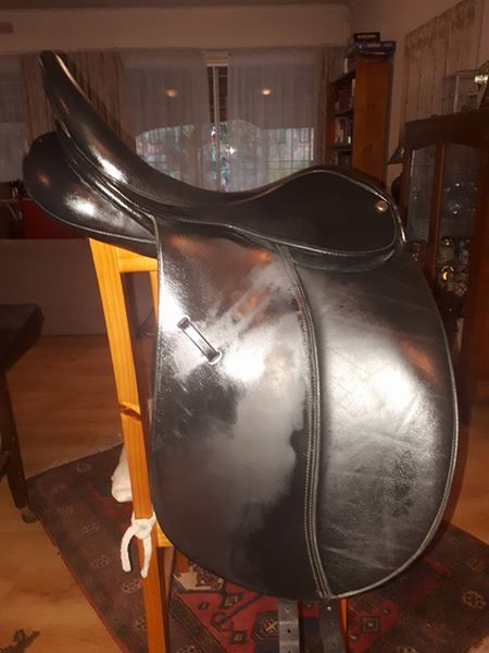 "17"" Klimke Miller Dressage Saddle for sale"