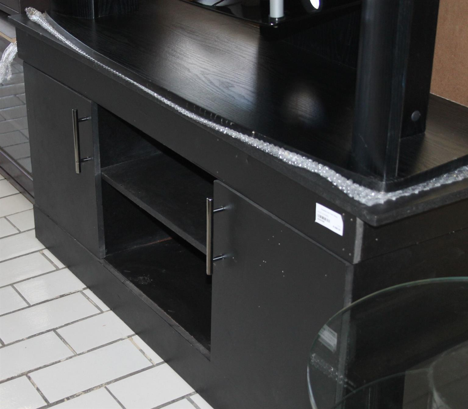 Black TV stand S029029b #Rosettenvillepawnshop