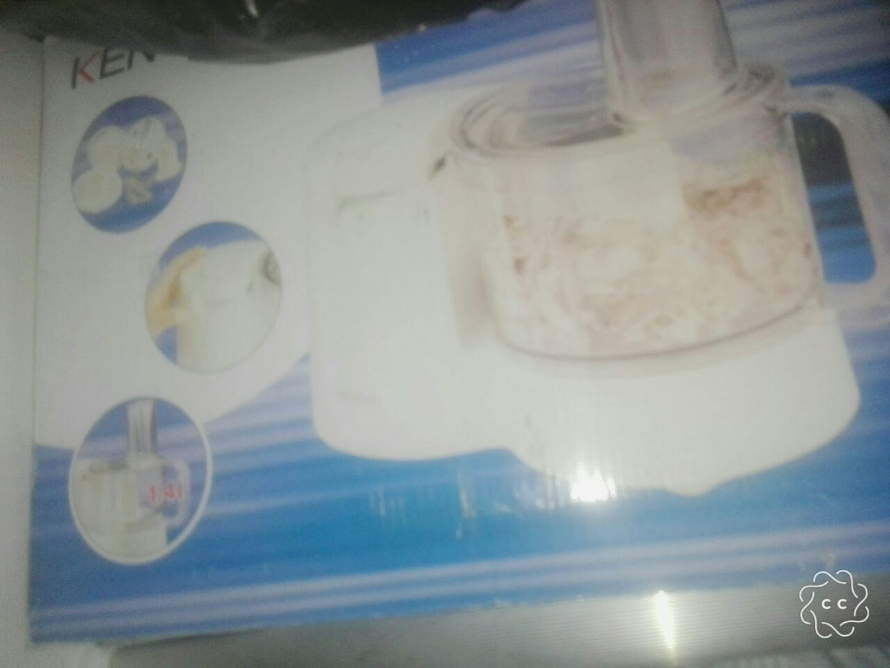 Brand new blender. Never been used