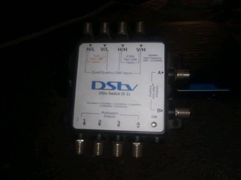 DSTV Explora Extra View Decoder.