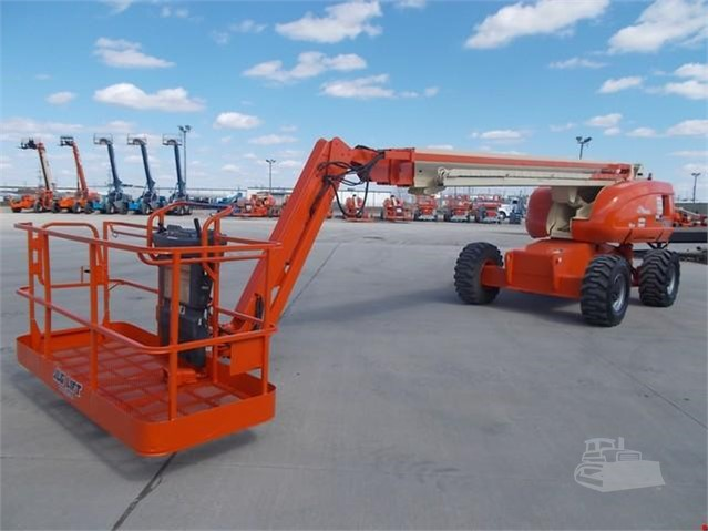 Cherry Pickers - JLG660SJ 22M diesel boom lift for hire/sale