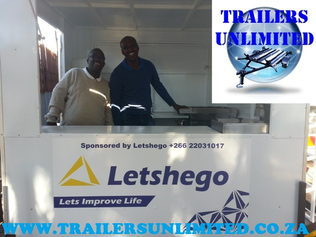 Catering Trailer 2020 x 1800 x 2020