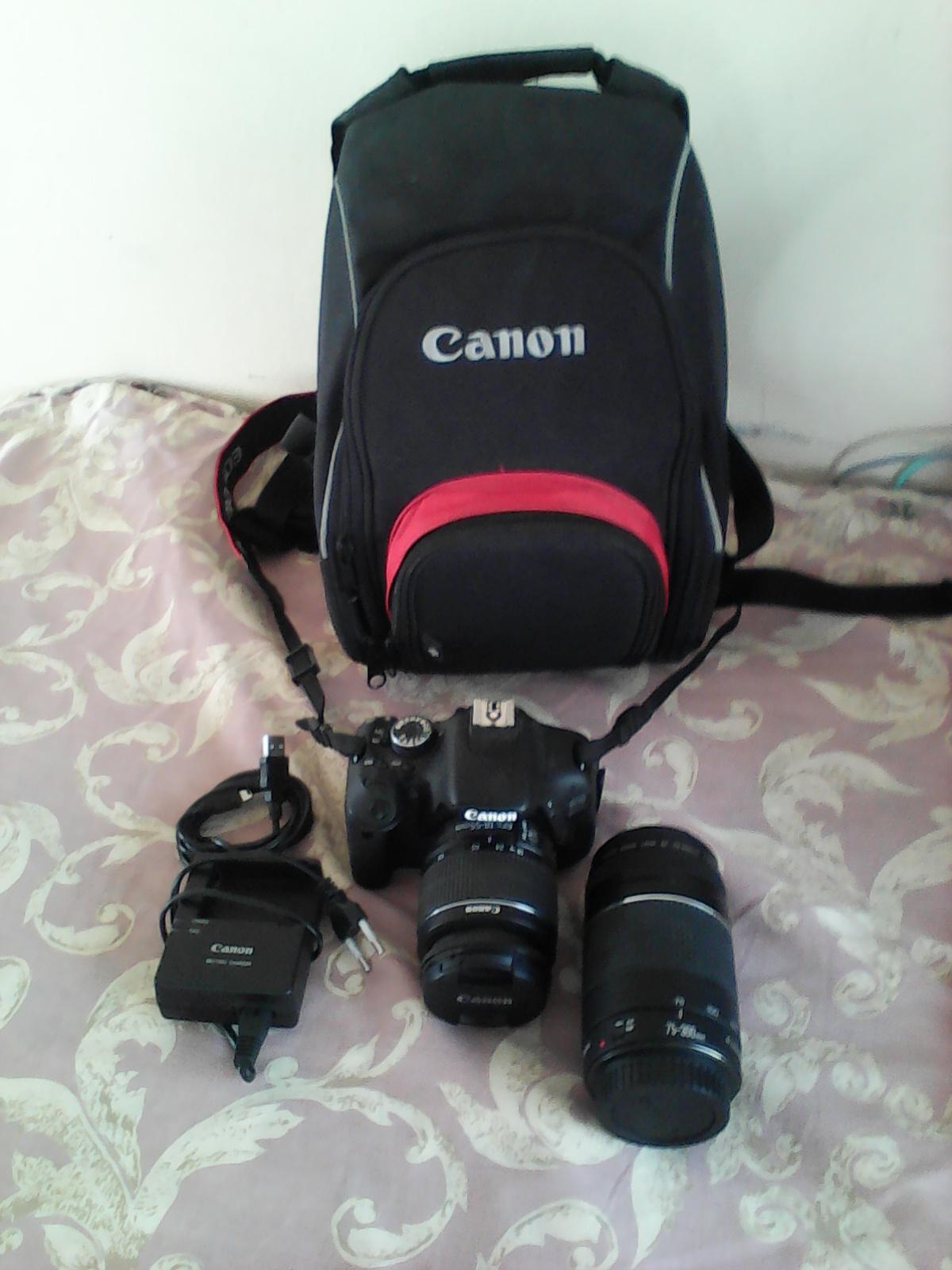 Canon EOS 600D Camera + Extra Lens