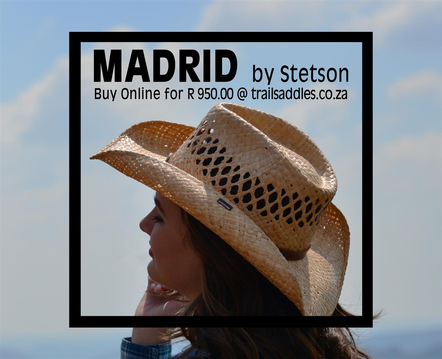 Stetson Hat - Madrid Raffia Hat  824430ddafd