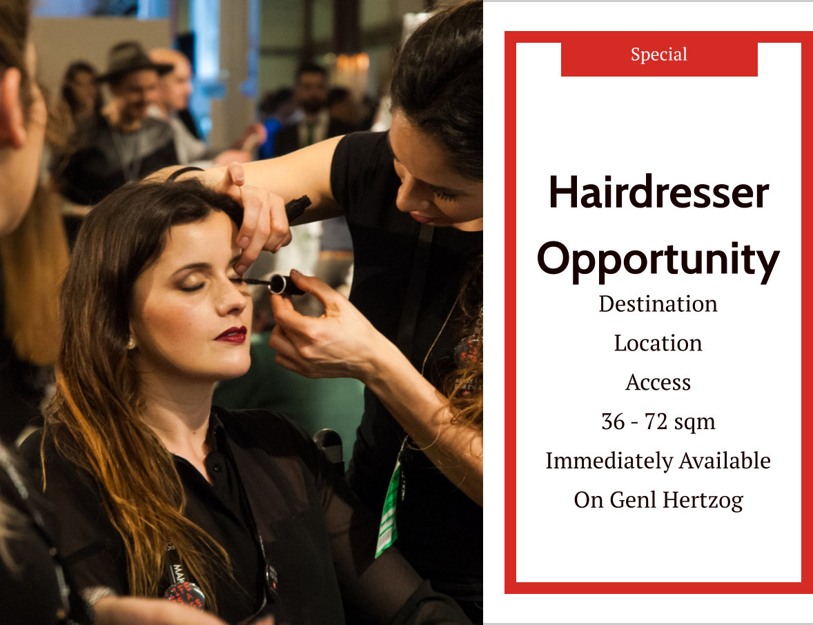 Hairdresser Opportunity in Three Rivers Vereeniging