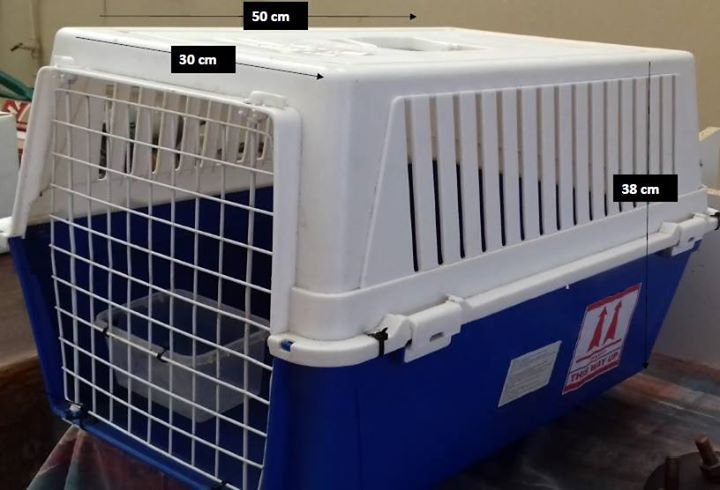 Pet travel crate