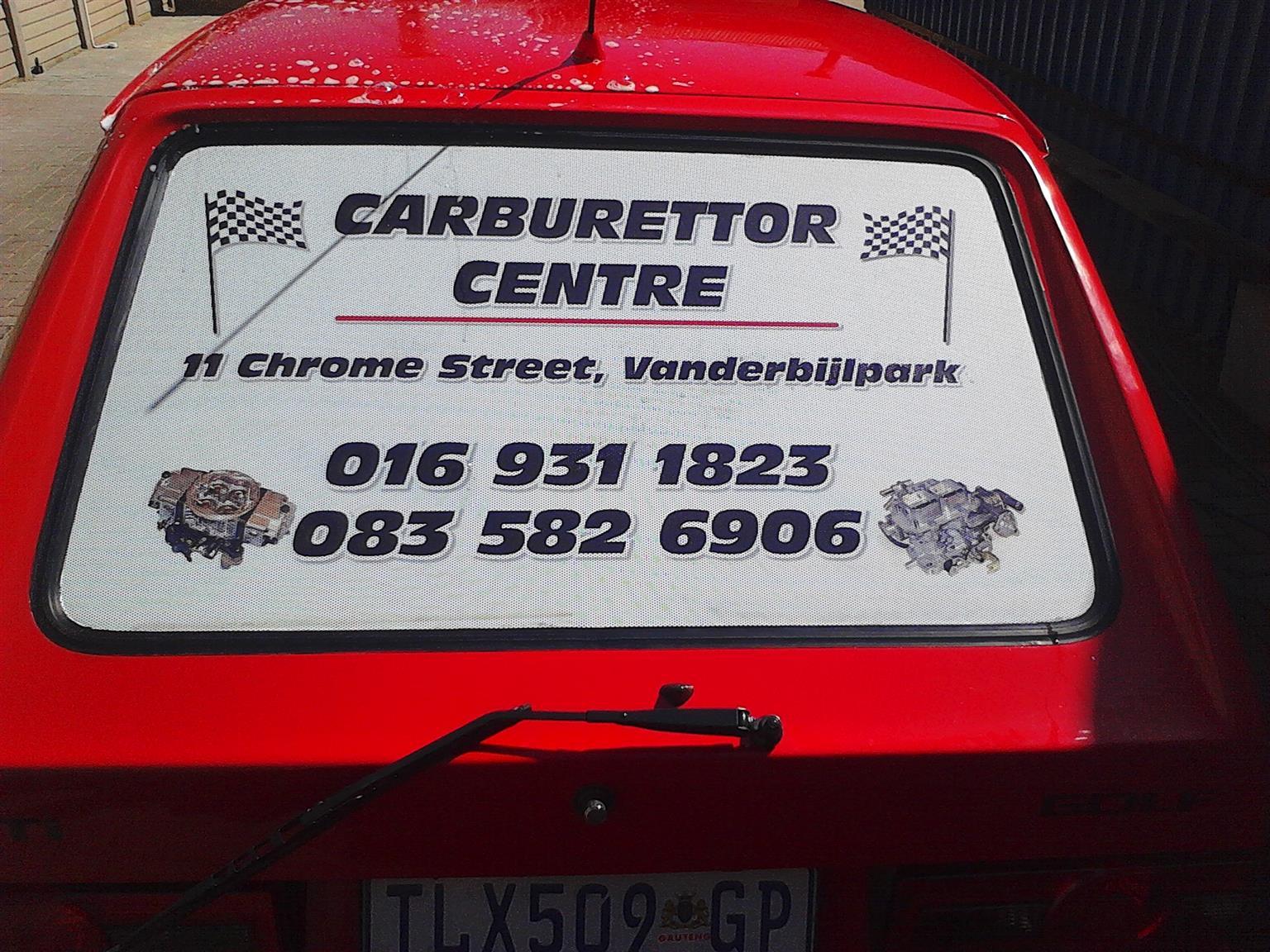 Carburettor centre