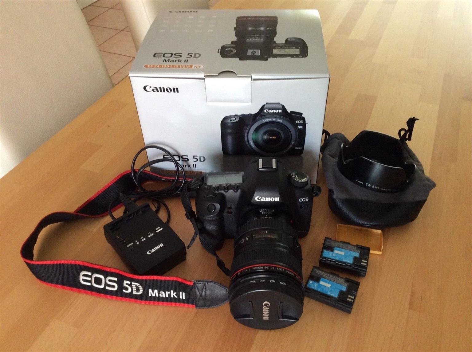 Canon EOS 5D Mark II 211 MP Kit With EF 24 105 L IS USM
