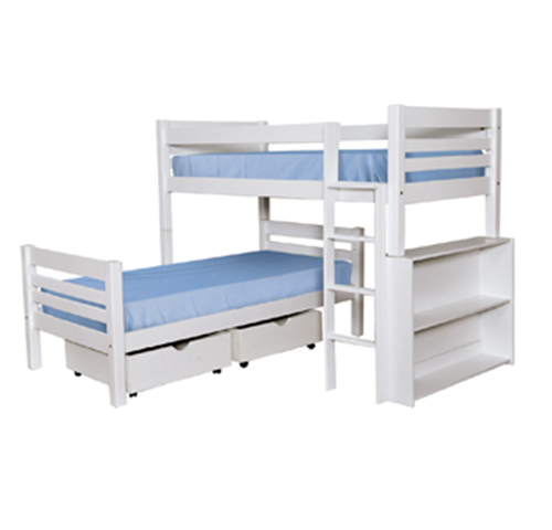 NEW L Shape bunk Beds - Various Colours