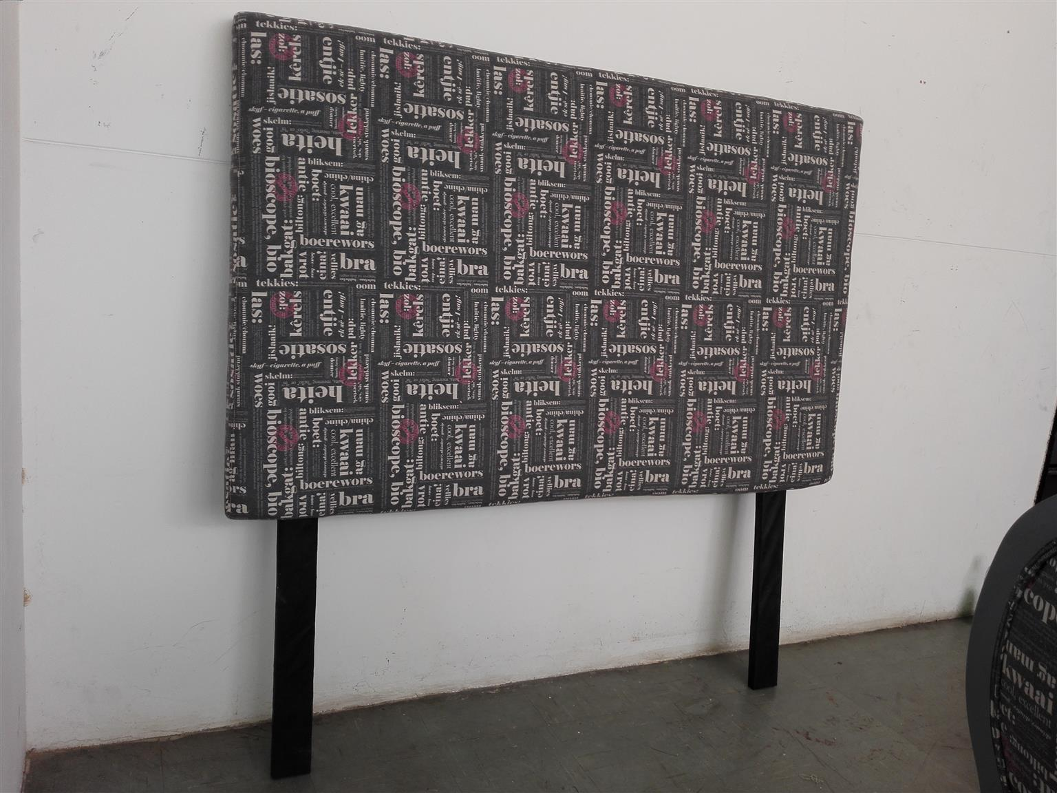 Print headboard