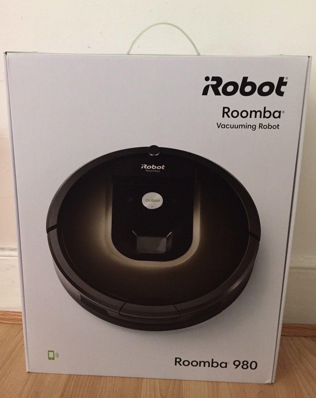 iRobot Roomba 980 Vacuuming Robot