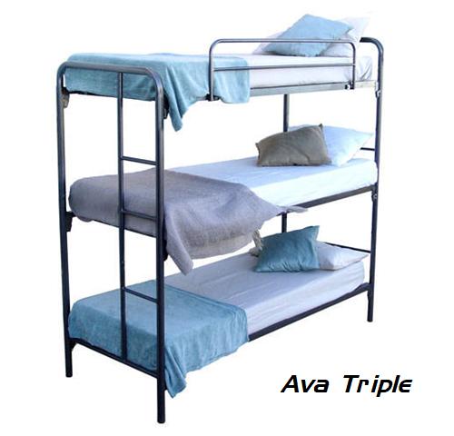 Steel Bunk Bed - Alaska Triple