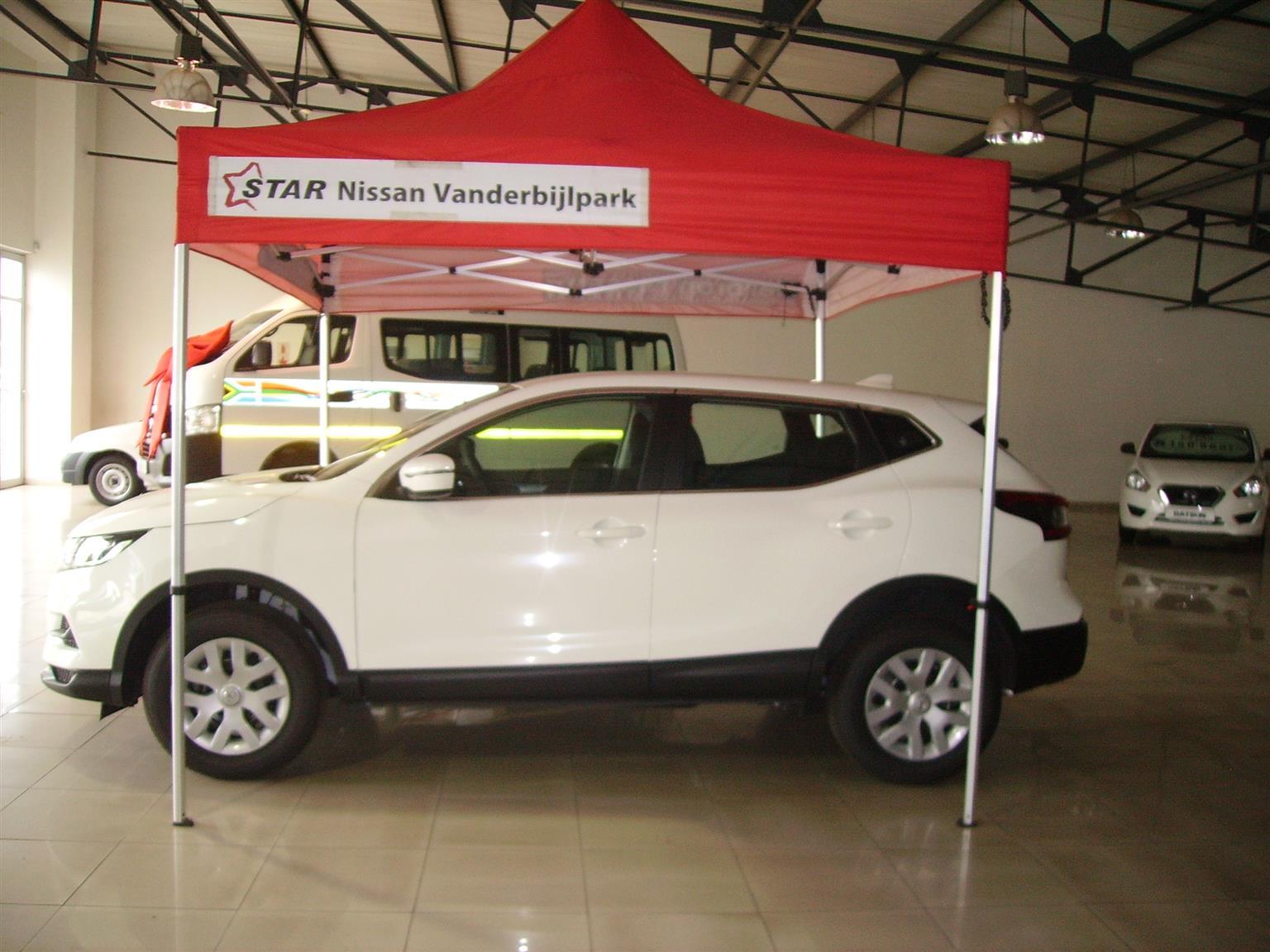 2018 Nissan Qashqai 1.2T Visia