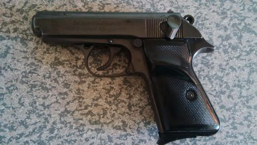 LUGER BROWNING  9mm Short limited made SEMI AUTOMATIC PISTOL
