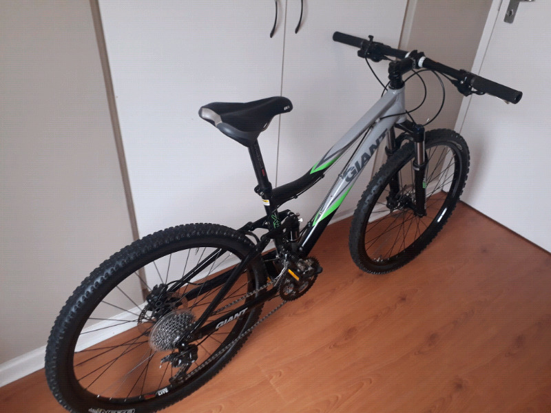 "Giant Halo 1 Full Suspension Mountain Bike Small 26"" Dual Suspension MTB"