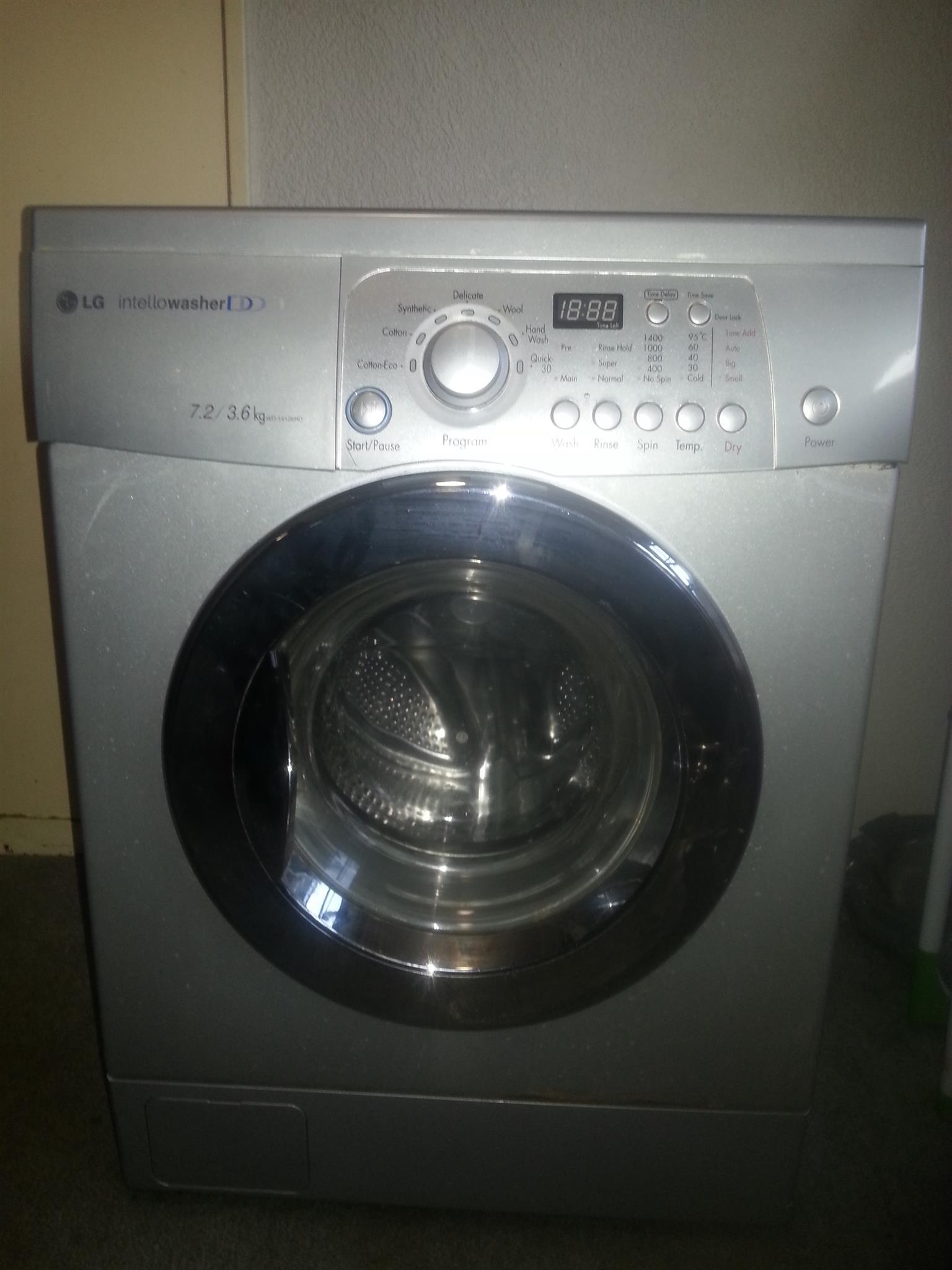 LG Intello Washer / Dryer Combo