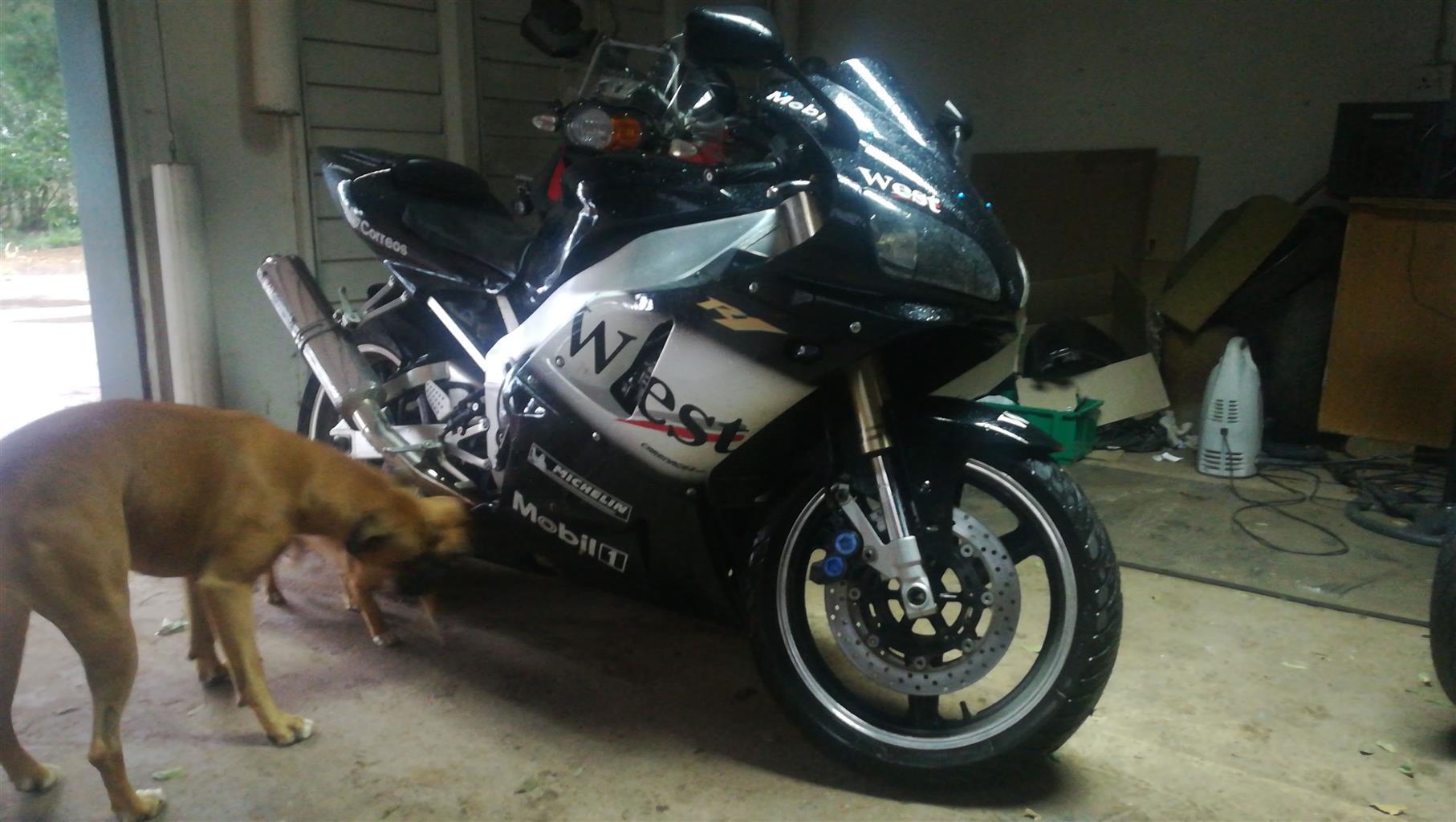 2001 Yamaha YZF