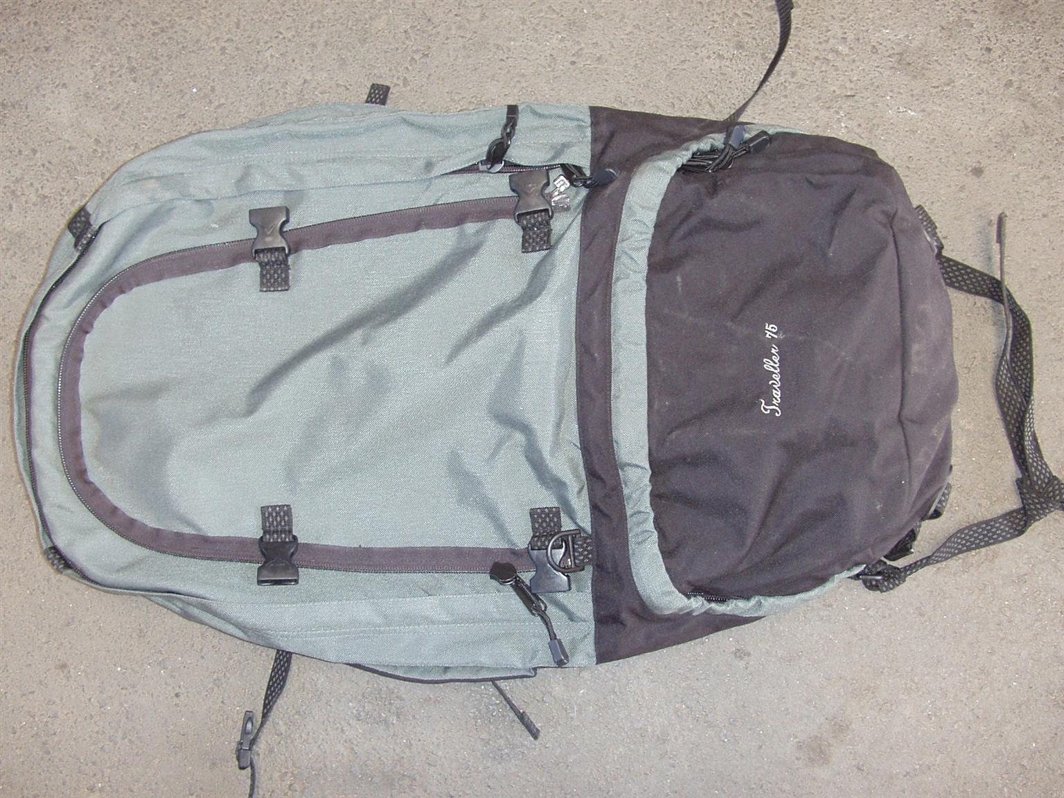 Back Pack - K-Way Traveller 75L Travel Pack -As New