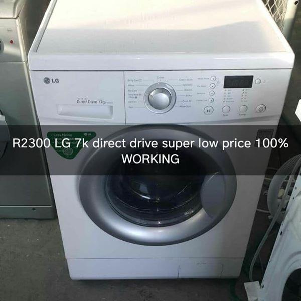 LG Direct drive 7kg frontloader