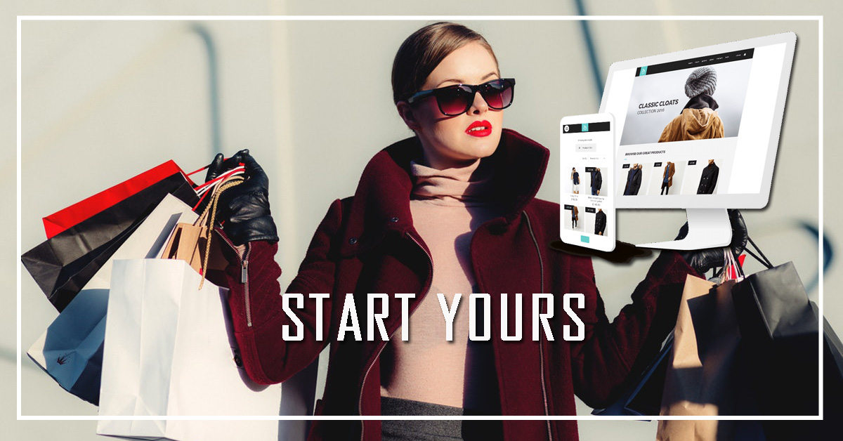 Start A Online Clothing Store!