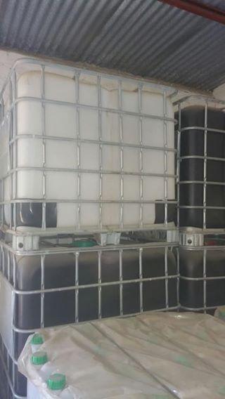 1000 liter plastiekdrom