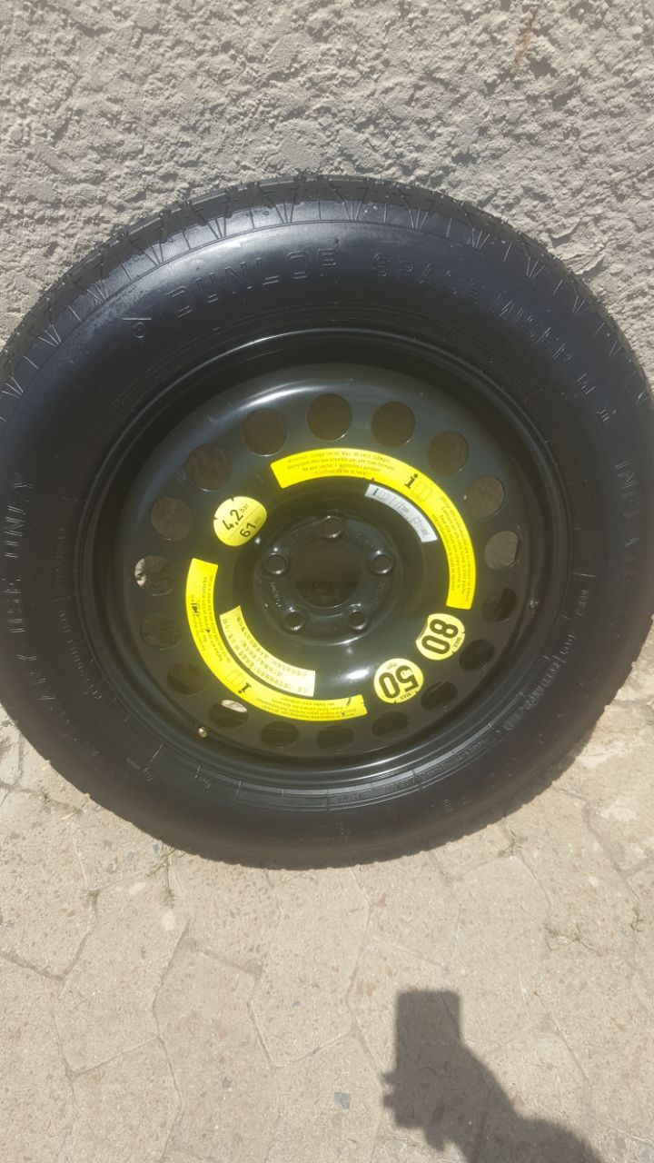 Merc GL 18 inch Space Saver Emergency  Spare Wheel with New Tyre R3950