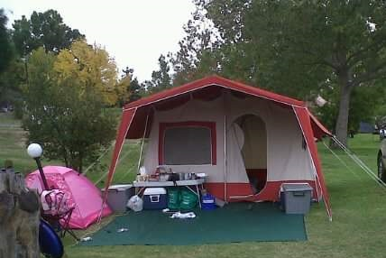 KING CABIN TENT