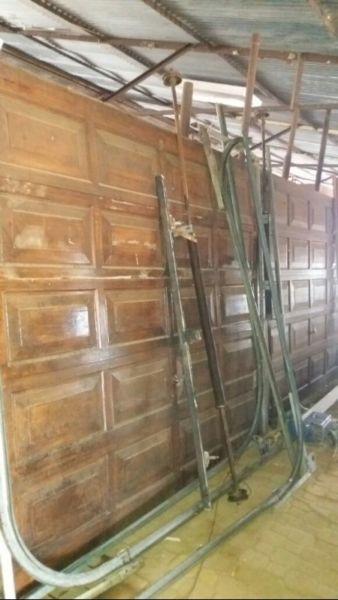 Wooden Garage doors sectional