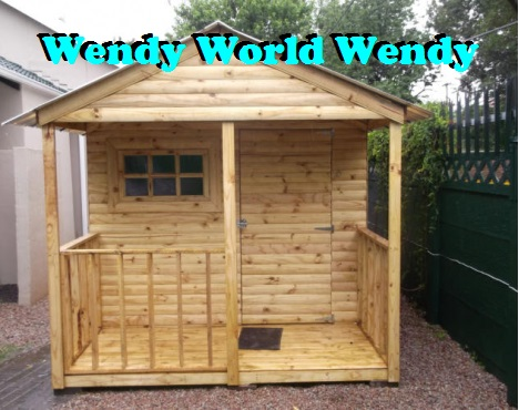 WENDYS   Log, Knotty pine and Paving