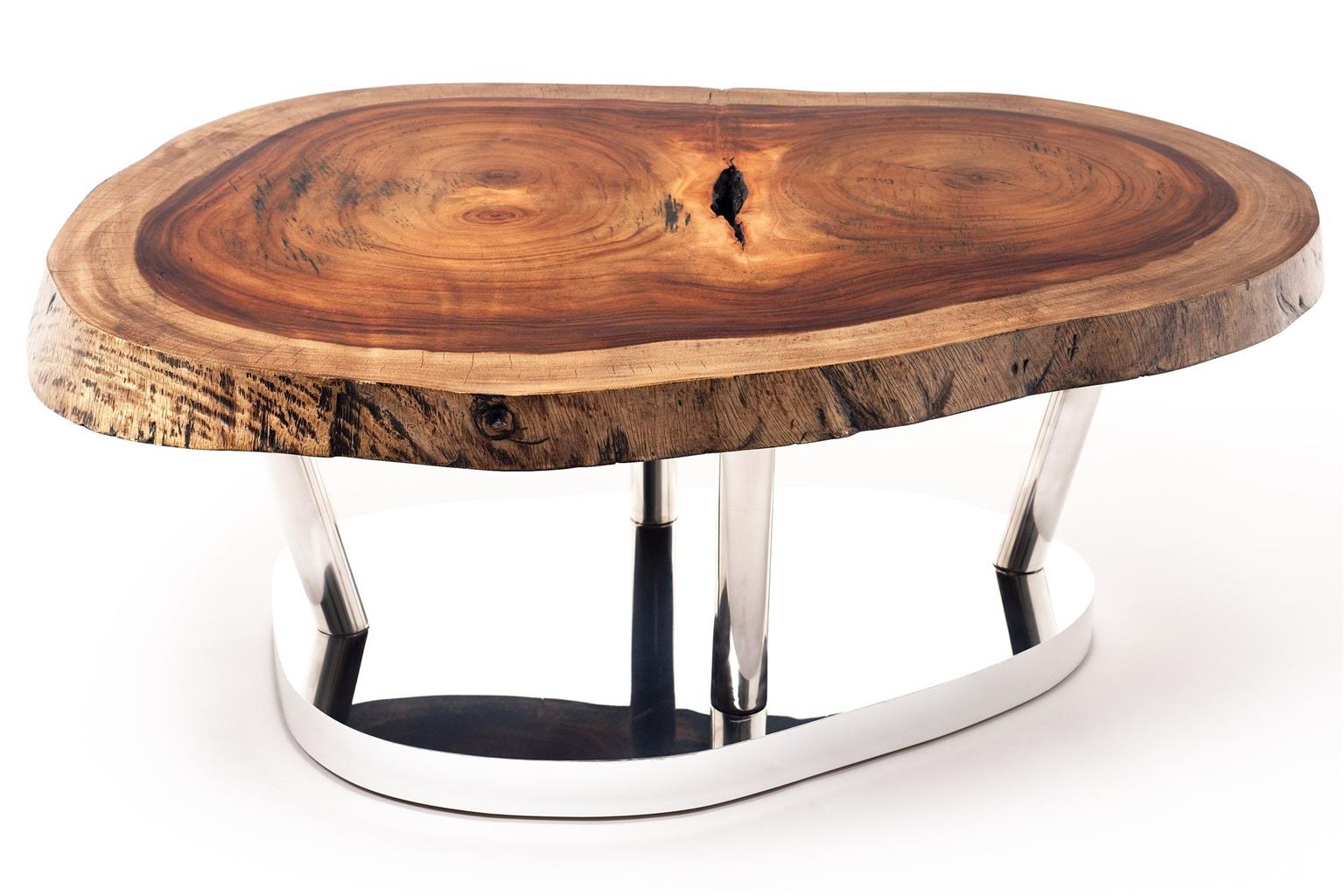 Life edge coffee tables with various leg options - starting from