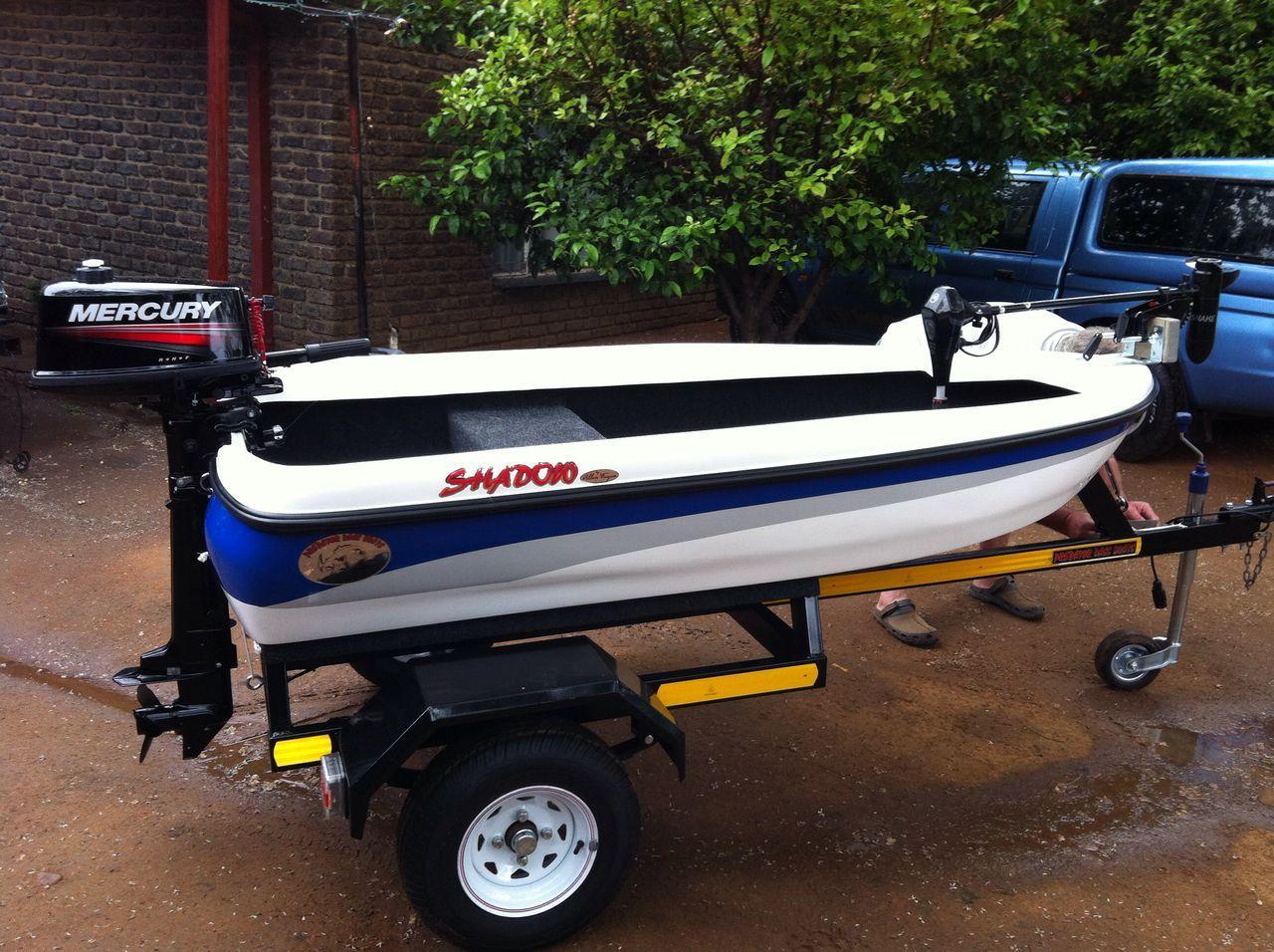 Small Bass Fishing Boat 5 Hp Mercury Junk Mail