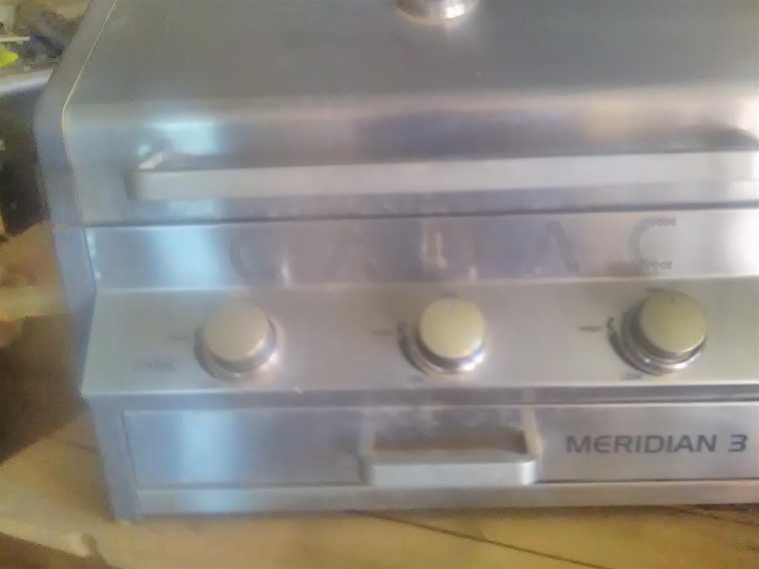 Gas braai Meredian 3 +gas bottle