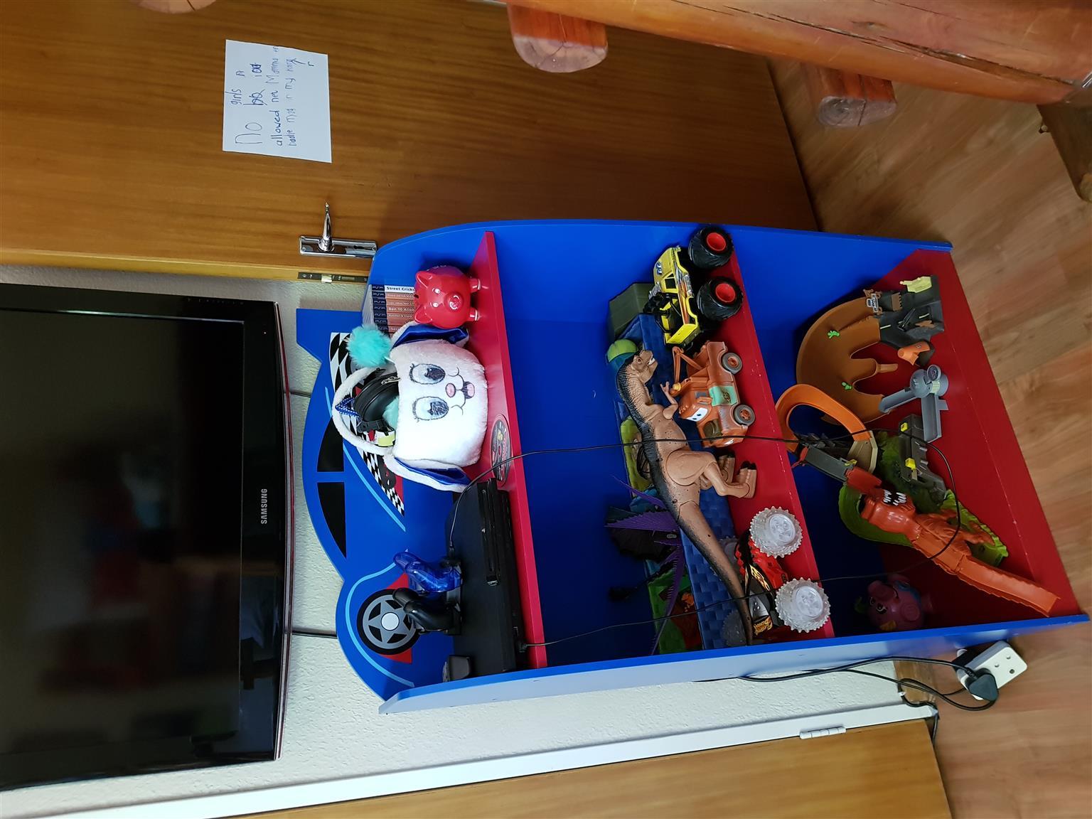 Boy's Car Bookshelf for sale