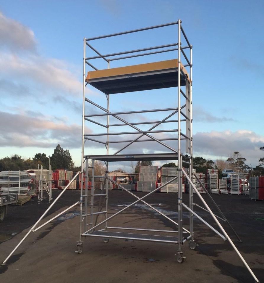 Mobile Aluminium Scaffold Tower